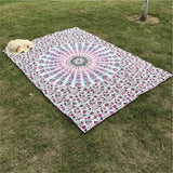 Indian Mandala Tapestry Hippie Flower Peacock Home Decorative Wall Hanging Beach Mat Bohemia Yoga Mat Bedspread