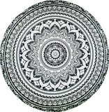 India Elephant Tapestry Peacock Printed Mandala Wall Hanging Bohemia Beach Mat Cappa Gypsy Yoga Mat Blanket Bikini Cover Up