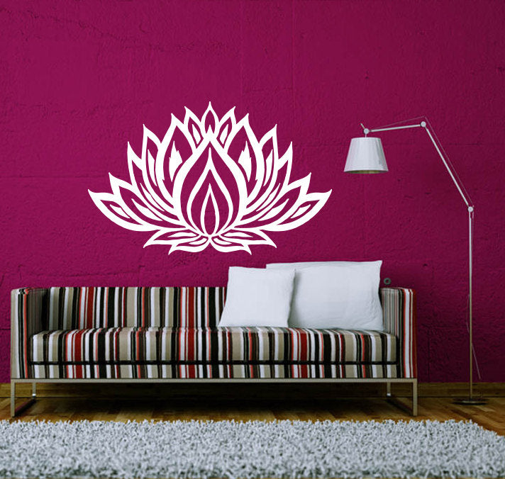 Mandala Flower Pattern Wall Stickers Home Art Special Decorative Wall Decal Vinyl Wallpaper Home Yoga