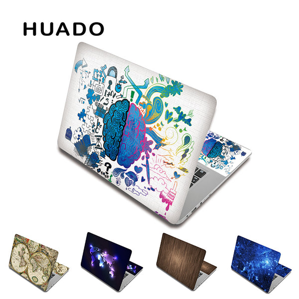 "Laptop skin sticker 15.6"" notebook decal covers 13 15"" 17"" inch laptop skin for macbook pro 15/ xiaomi air 13.3/ lenovo/asus"
