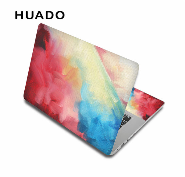 "New coloful laptop skin notebook stickers for 15"" 15.6"" 13"" 13.3"" 14"" computer sticker for macbook/ hp/ acer/ xiaomi"