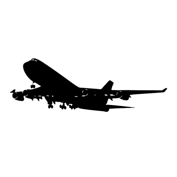Realistic Aircraft Wall Decals Removable Airplane Vinyl Wall Sticker For Home Kids Room & Living Room Decoration