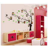 Sticker On The Wall Black Art Photo Frame Memory Tree Wall Stickers Home Decor Family Tree Wall Decal Mural Poster