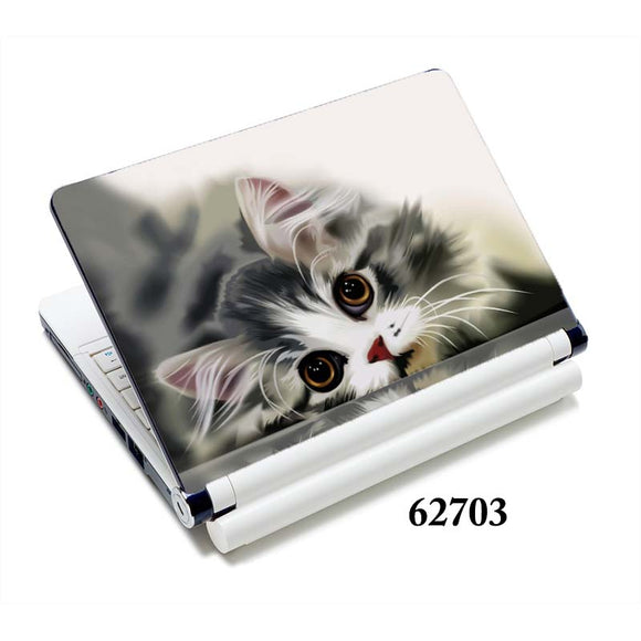 Cat laptop sticker notebook skin covers 13