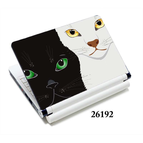 "cat laptop sticker notebook skin covers 13""15""15.6"" for macbook/ acer computer accessories / hp"