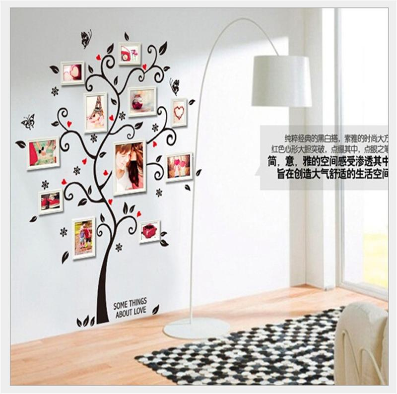 Photos Family Tree Wall Stickers Quotes Living Room Decorations Diy Home Decals Removable Mural Art Print Poster Without Frame
