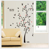 photos family tree wall stickers quotes living room decorations diy home decals removable mural art print poster (Without Frame)