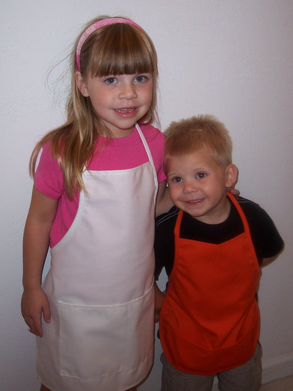 CHILDREN'S APRONS USA MADE