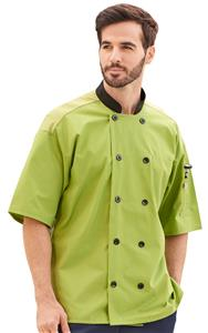 Havana Short Sleeve Chef Coat