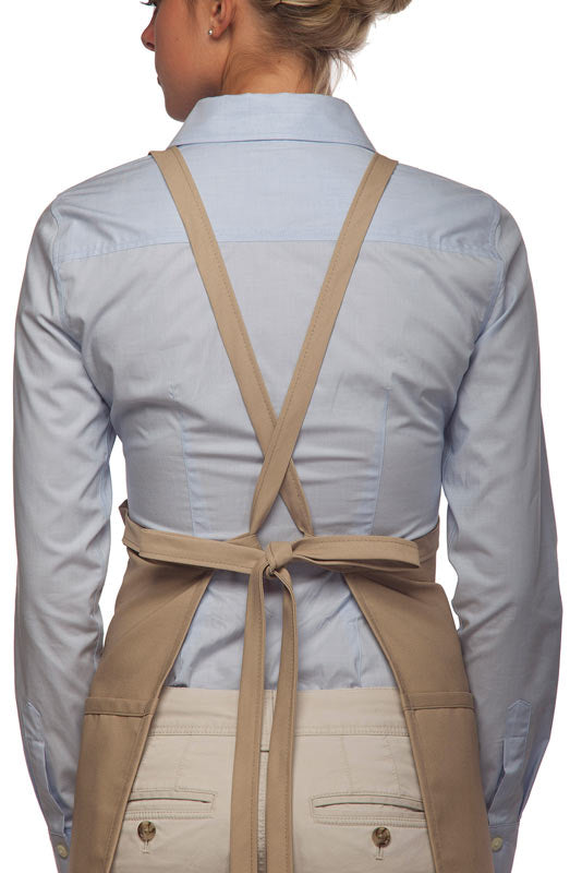 Short Apron Criss-Cross w/3 pkt