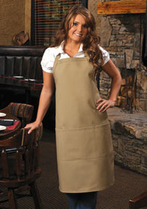 Full Length Apron with 3 pockets