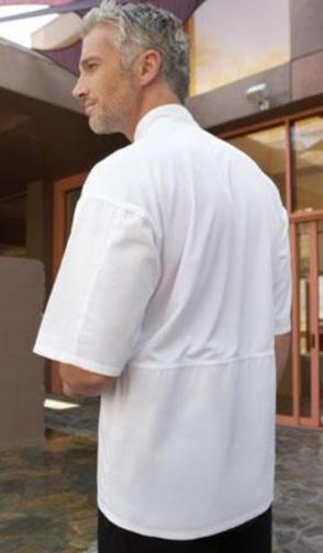 Aruba Chef Coat with Mesh -