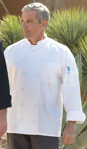 Barbados Chef Coat with Pro Vent