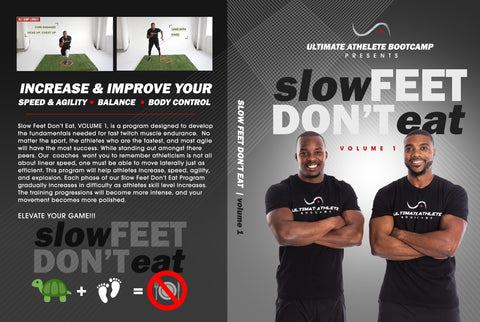 "Slow Feet Don't Eat Vol.1 ""Training Video"""