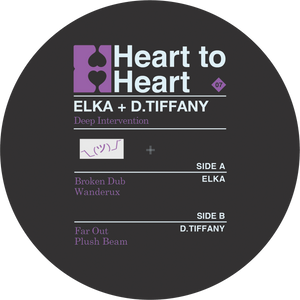 "D.Tiffany / Elka - Deep Intervention (12"")"