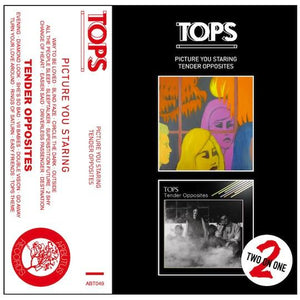 "TOPS - ""Picture You Staring / Tender Opposites"" (2 in 1 Cassette)"