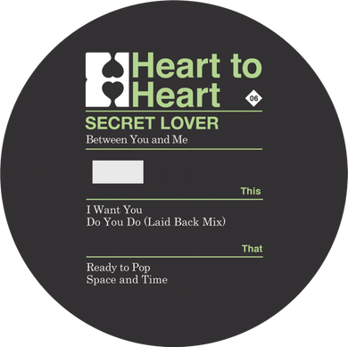 Secret Lover - Between You And Me (12