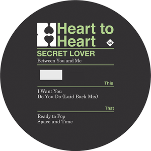 "Secret Lover - Between You And Me (12"")"