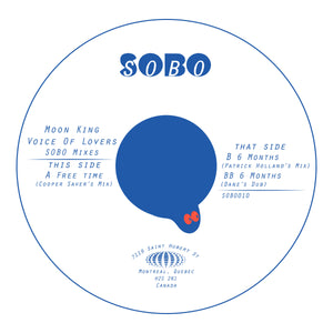 Moon King - 'Voice of Lovers SOBO Mixes' 12""