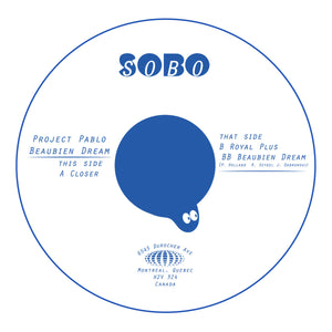 Project Pablo - 'Beaubien Dream' 12""