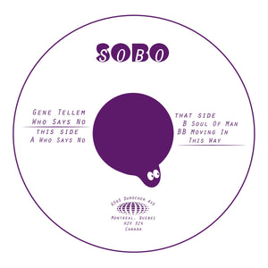 Gene Tellem - 'Who Says No' 12""