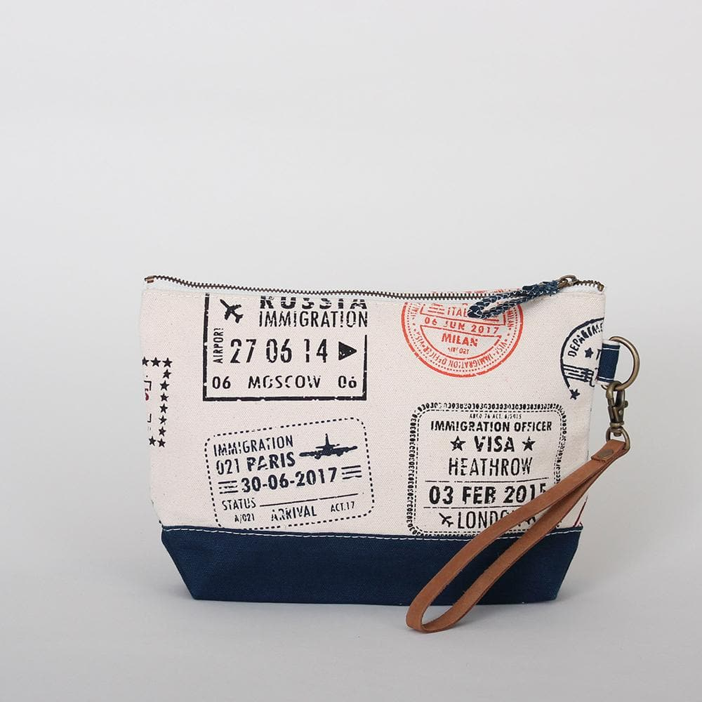 Nubuck Leather Wristlet - ShoreBags