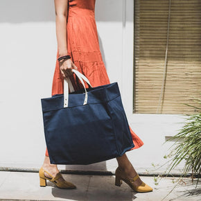 Box Tote - ShoreBags