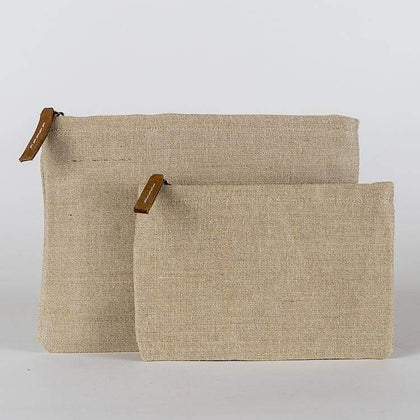 Modern Jute Pouch - Natural ShoreBags