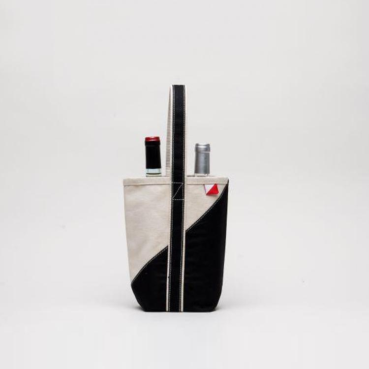 Contemporary Wine Tote - ShoreBags