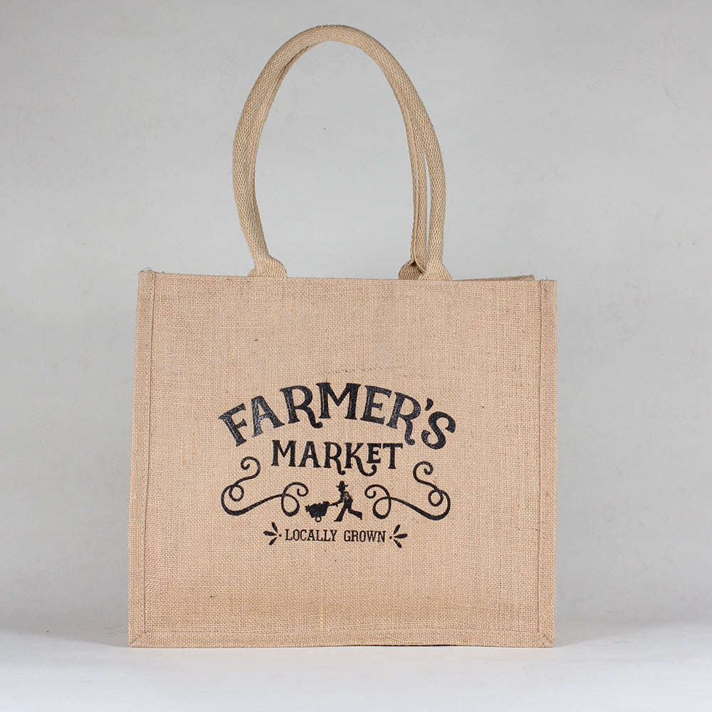 Jute Farmer's Market Bag