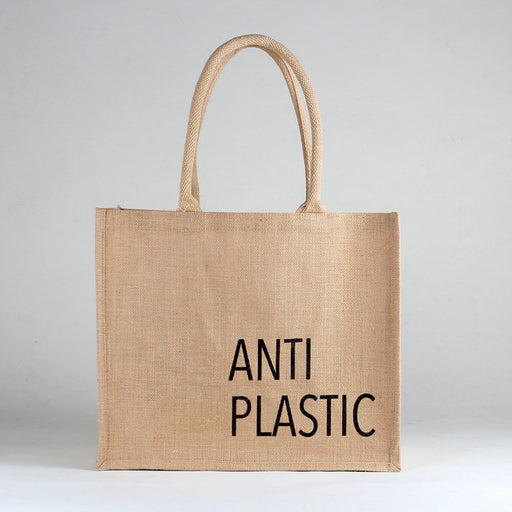 Jute Market Anti Plastic Bag
