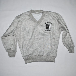 St Peter's V Neck Sweatshirt - Swifts Uniforms