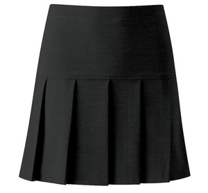 Girls Charcoal Skirt - Swifts Uniforms