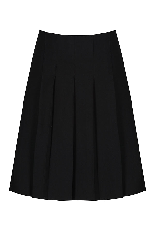Black Pleated Girls Skirt - Swifts Uniforms