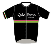 "Lake Como Cycling ""Classic"" Multi-Color Stripped Jersey - lakecomocycling.com"
