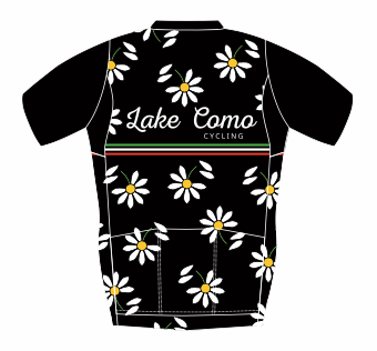 Lake Como Cycling Floral Print Jersey - lakecomocycling.com