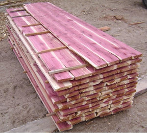 "Aromatic Red Cedar Board @<br>3/4"" x 8"" x 16"""