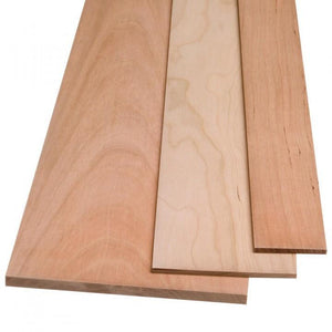 "Cherry Board Measuring<br>1/4"" x 9"" x 24"""