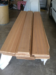 "Red Oak Board @<br>1/4"" x 6"" x 48"""