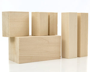 "Basswood Carving Blocks Measuring<br>4"" x 4"" x 16"""