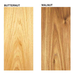 "Butternut Board @<br>1/8"" x 3"" x 12"""