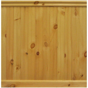 "Knotty Pine Board Measuring<br>3/8"" x 9"" x 24"""