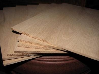 Red Oak Board @<br>1/8