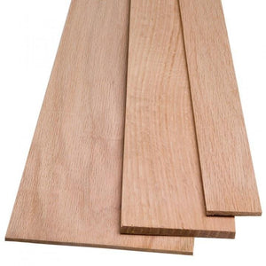 "Red Oak Board @<br>3/8"" x 5"" x 48"""