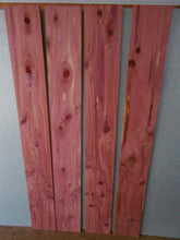 "Aromatic Red Cedar Board @<br>1/4"" x 3"" x 24"""