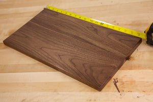 "Walnut Board @<br>1/4"" x 3"" x 12"""