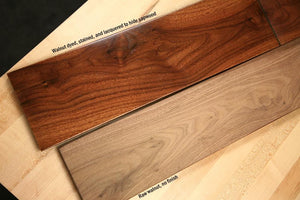 "Walnut Board @<br>1/8"" x 6"" x 36"""