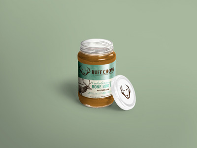 RUFF WILD Organic Bone Broth