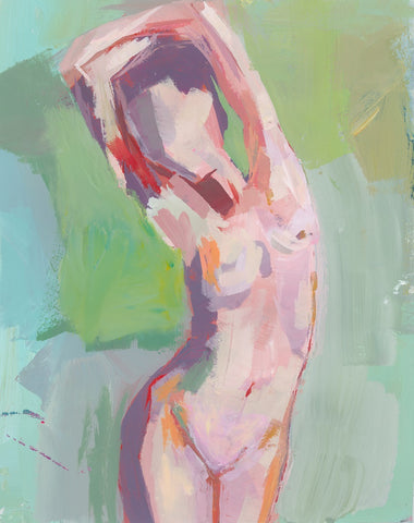 Middle Berry Abstract Nude Abstract Figure