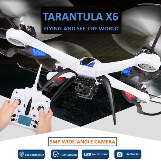 JJRC H16 Tarantula X6 Professional RC Quadcopter Drones with HD Wide angle 5MP Camera
